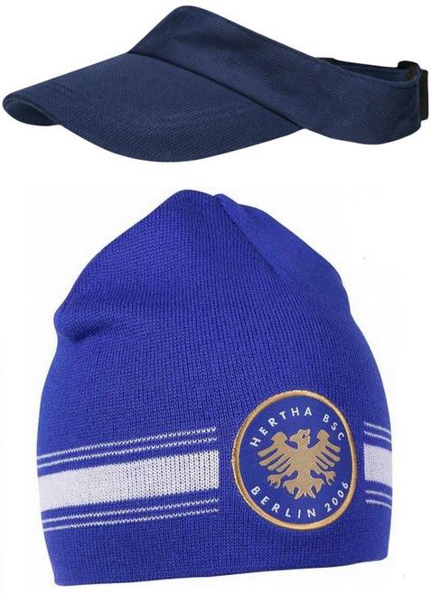 "FILA Unisex Sport-Kappe ""Visor Cap"" für 1,11€ + 3,95€ VSK (100% Baumwolle), Sparclub-Deal Hertha-Mütze für 2,22€ + VSK [SportSpar]"