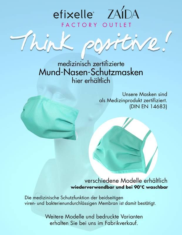 EFIXELLE Outlet - Mund-Nasen-Schutzmaske (MEDIZINPRODUKT gem. DIN EN 14683) *LOKAL Zollernalbkreis