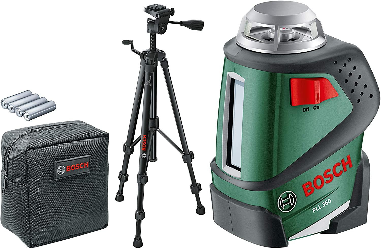 Bosch Linienlaser PLL 360 Set mit Stativ