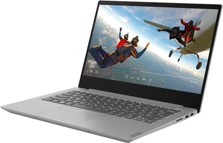 LENOVO IdeaPad S340, Notebook mit 15,6 Zoll Display, Ryzen 7 Prozessor, 8 GB RAM, 512 GB SSD, Radeon RX Vega 10 Grafik, Platinum Grey