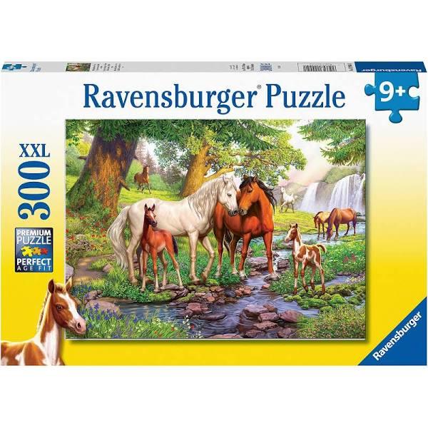 Ravensburger - Wildpferde am Fluss - 300 Teile XXL Kinderpuzzle für 6,94€ (Amazon Prime & Real Abholung)