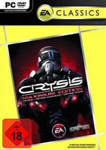 Crysis Maximum Edition (AT-Version) Pc um 12,89 Euro inklusive Versand (Cd-Rom)