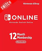 Nintendo Switch Online 12 Monate Mitgliedschaft für 13,05€ & Familienmitgliedschaft für 22,99€ (eShop ZAF)