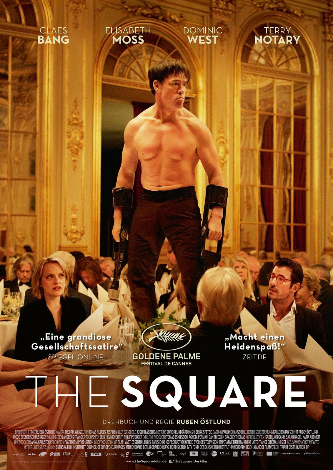 The Square - kostenlos im Stream [Arte Mediathek ab 17.05]
