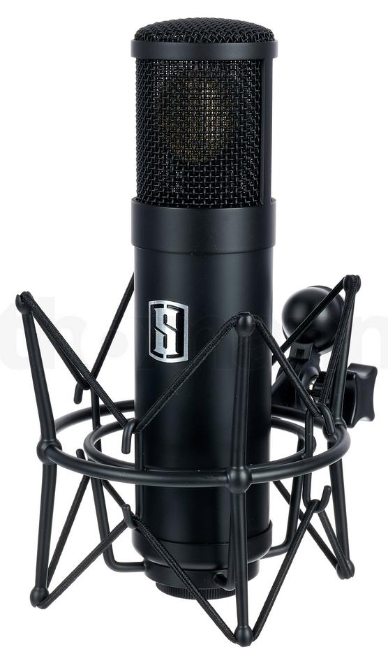 Slate Digital ML-1 Matte Black Mikrofon um 300 Euro reduziert! Großmembran-Kondensatormikrofon mit Modeling-Software als VST, AU, AAX