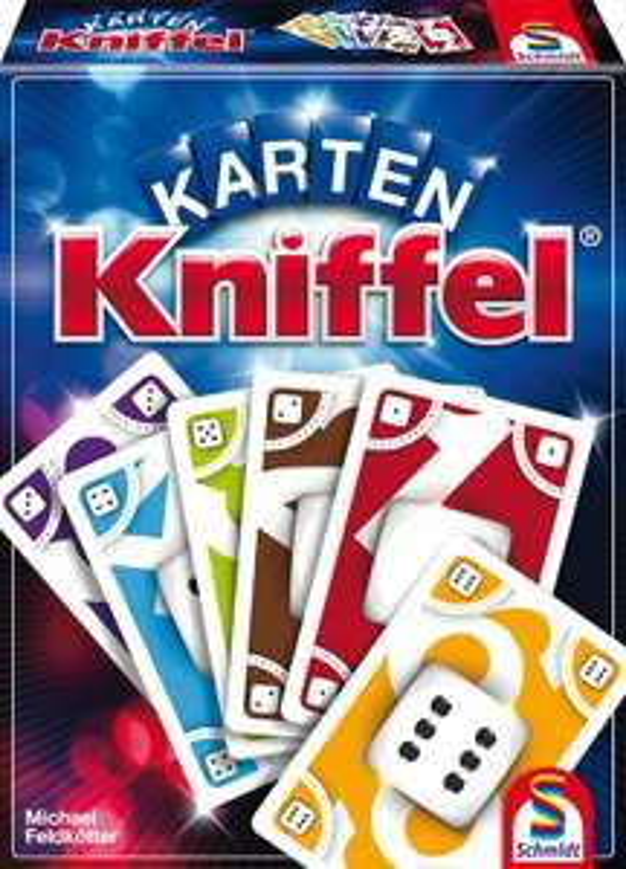 Schmidt Spiele 75025 Karten-Kniffel [Amazon Prime]