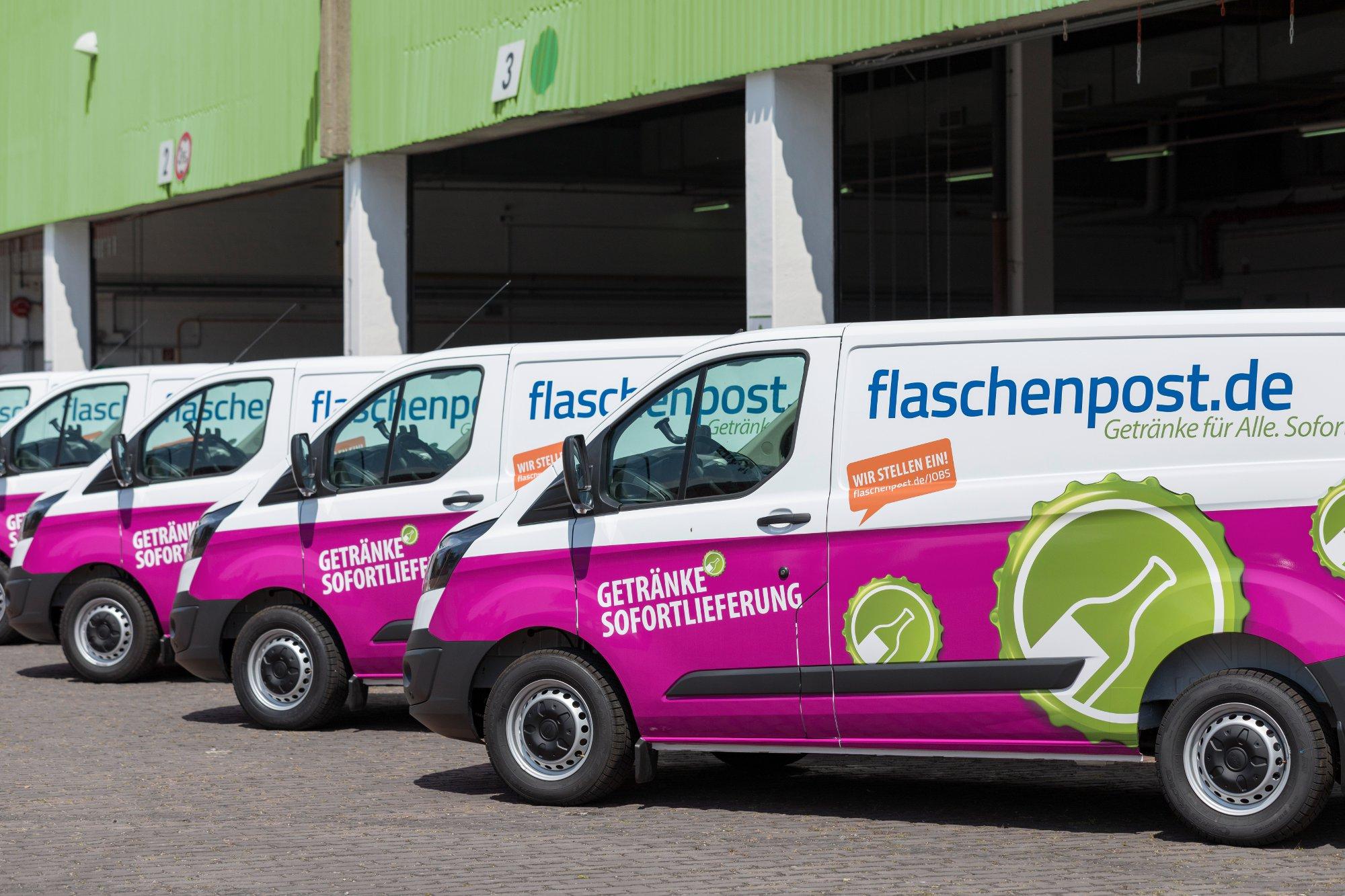 flaschenpost 5€ Gutschein (corporate benefits) 25€ MBW