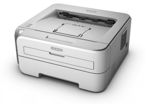Ricoh Aficio SP 1210N Laserdrucker (baugleich Brother HL-2150N) + gratis Toner (kompatibel)