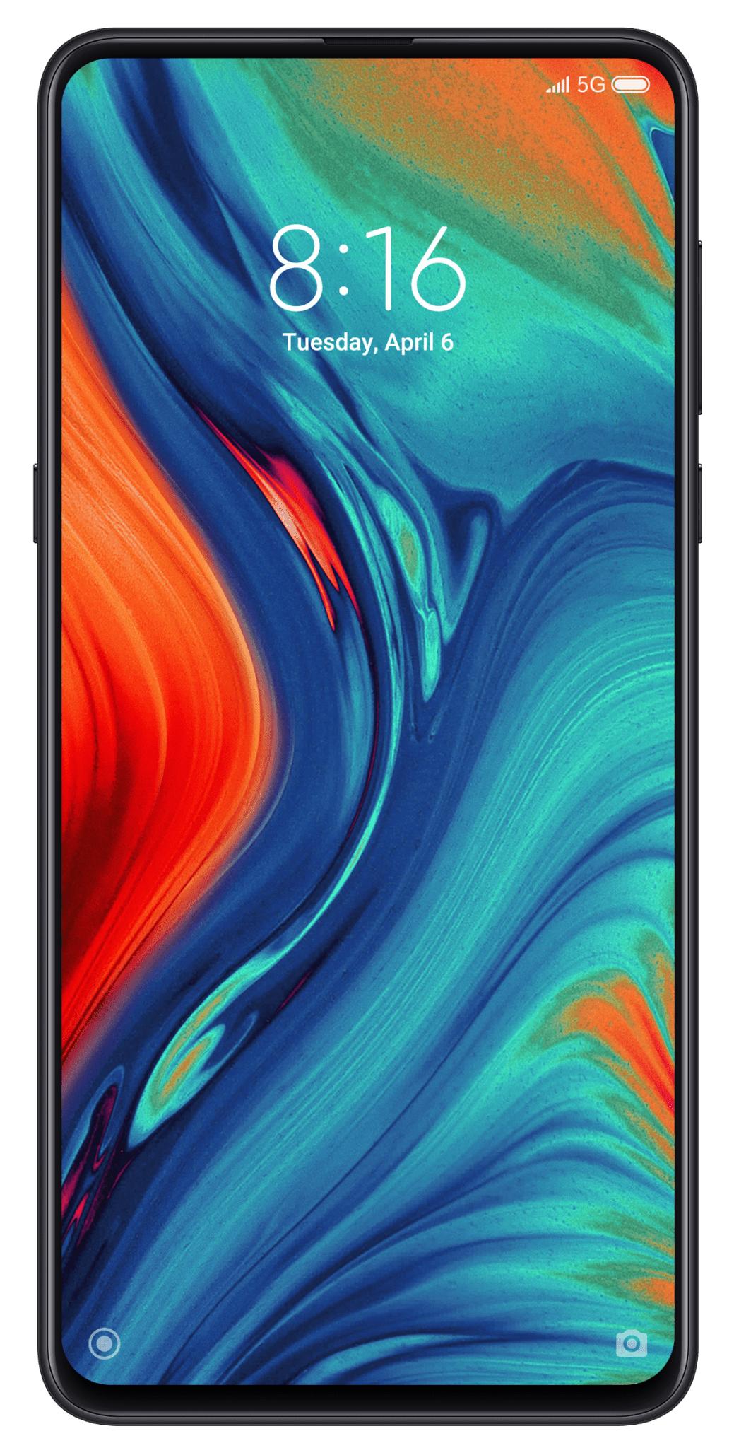 """Xiaomi Mi Mix 3 5G 128/6GB - 6,39"""" Amoled - Snapdragon 855 - 3800mAh Akku - Dual Kamera"""