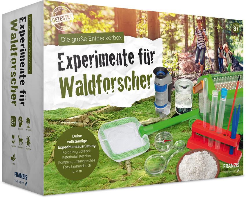 Franzis Experimente für Waldforscher Entdeckerbox - Alternativ offline bei Conrad für 16,99€