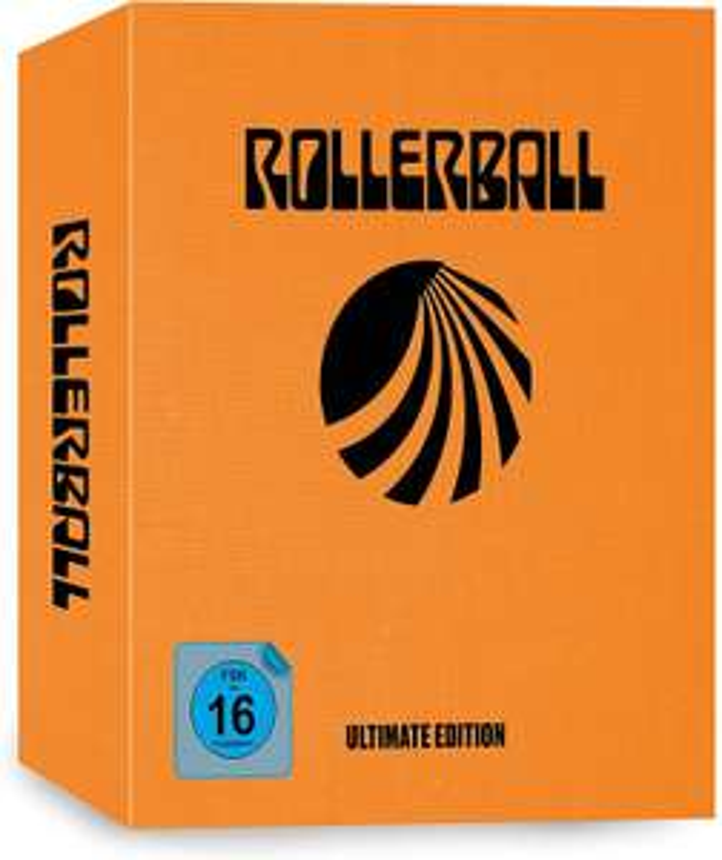 Rollerball 5-Disc-Ultimate Edition (UHD + 3x Blu-ray + Daten-Disc) inkl. Remake [amazon.de]