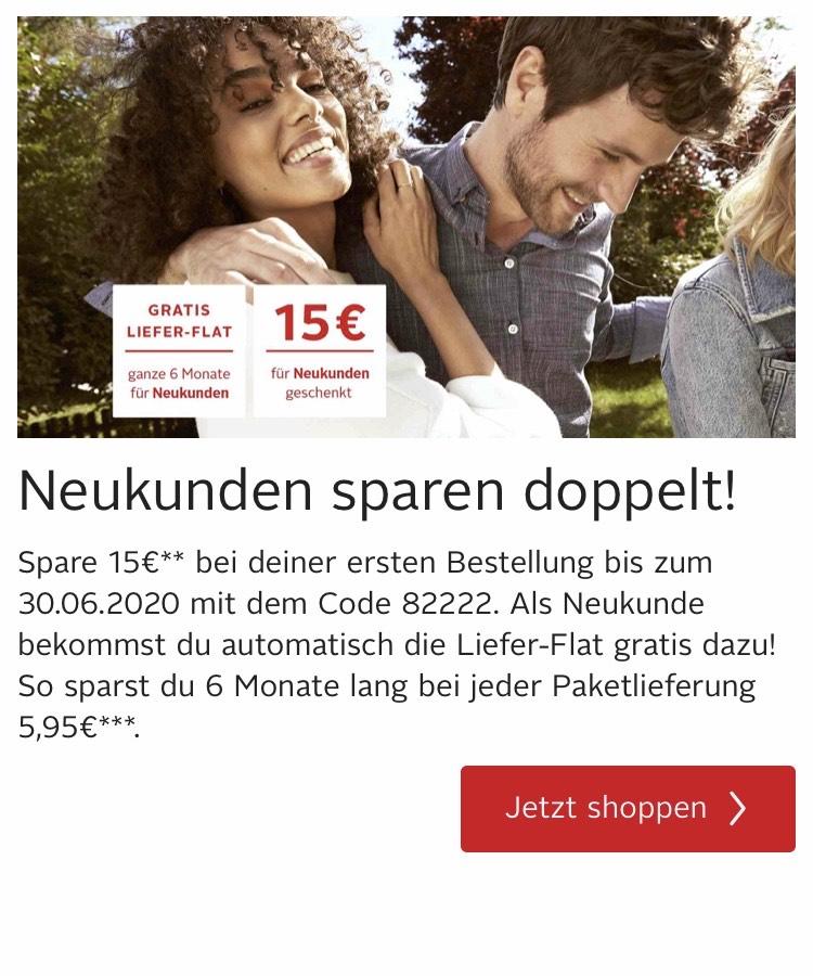 15€ Rabatt + Versandkostenfrei bei OTTO