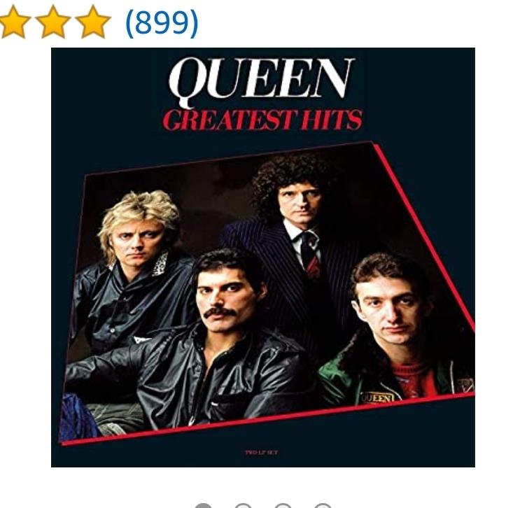 20% Rabatt bei Amazon auf Vinyl, zb Queen Greatest Hits für 19 Euro