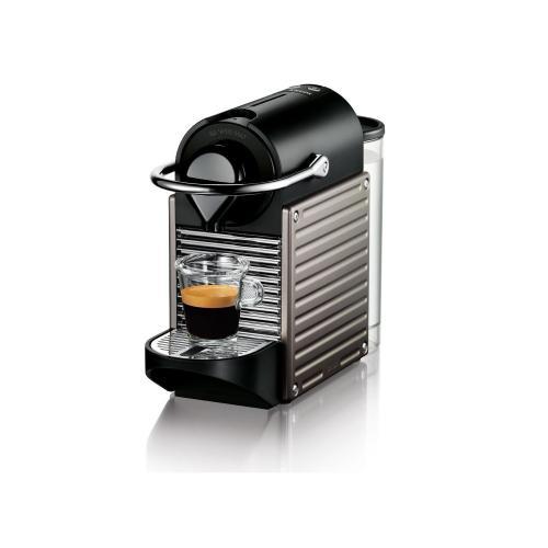 Krups XN 3005 Nespresso Pixie Electric Titan - jetzt mit 50 EUR Gutschein