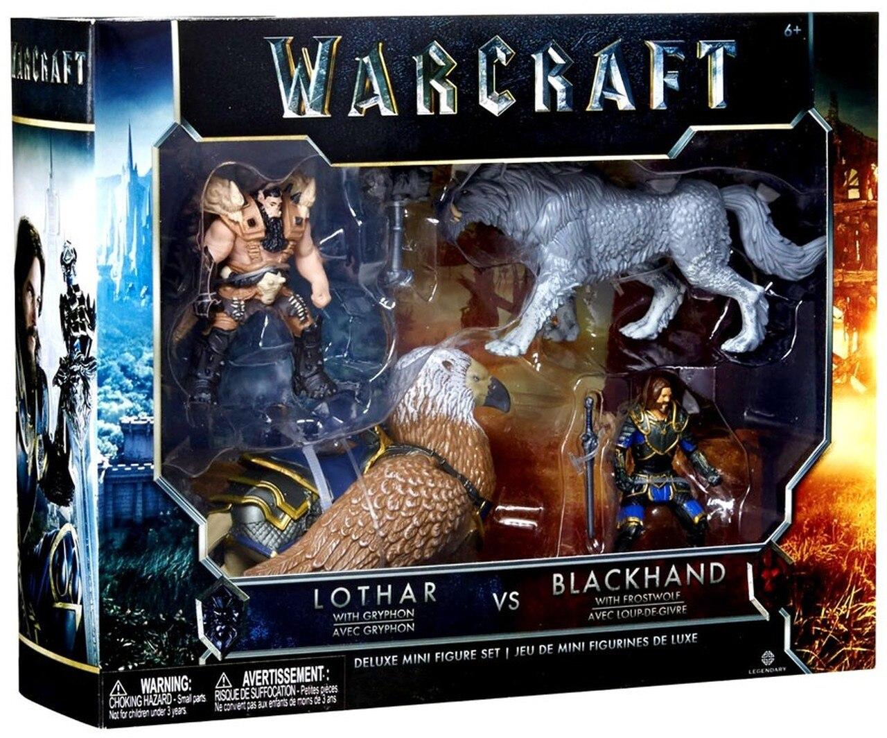 [Euroshop Bielefeld] bundesweit? Warcraft Spielfiguren Set Lothar vs Blackhand für 1,10€