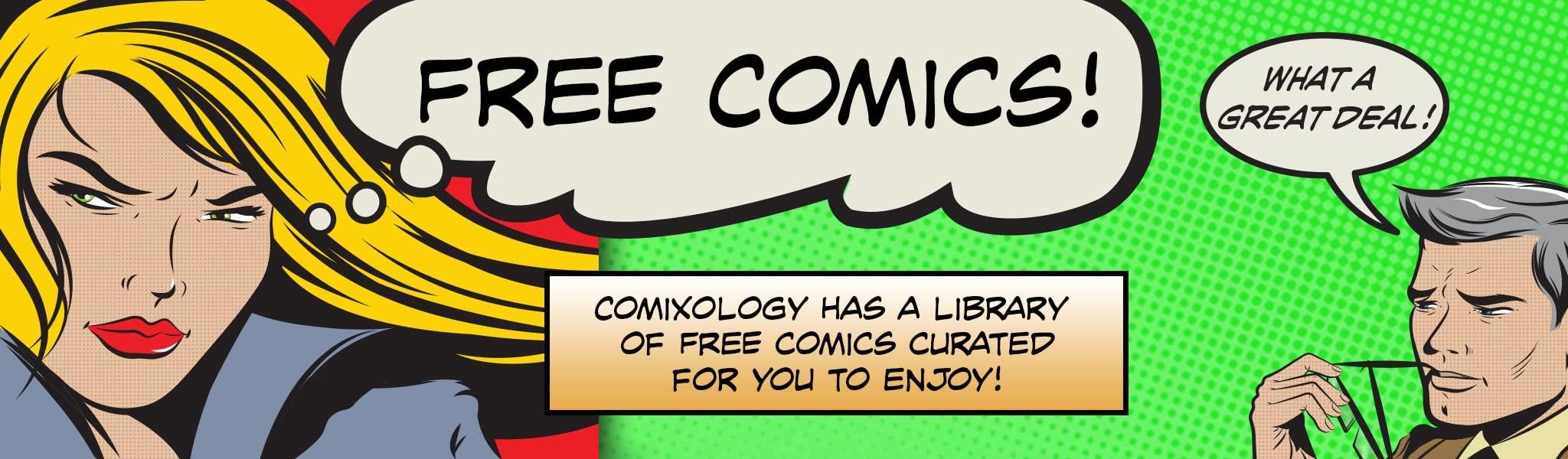Neue kostenlose Comics bei Comixology