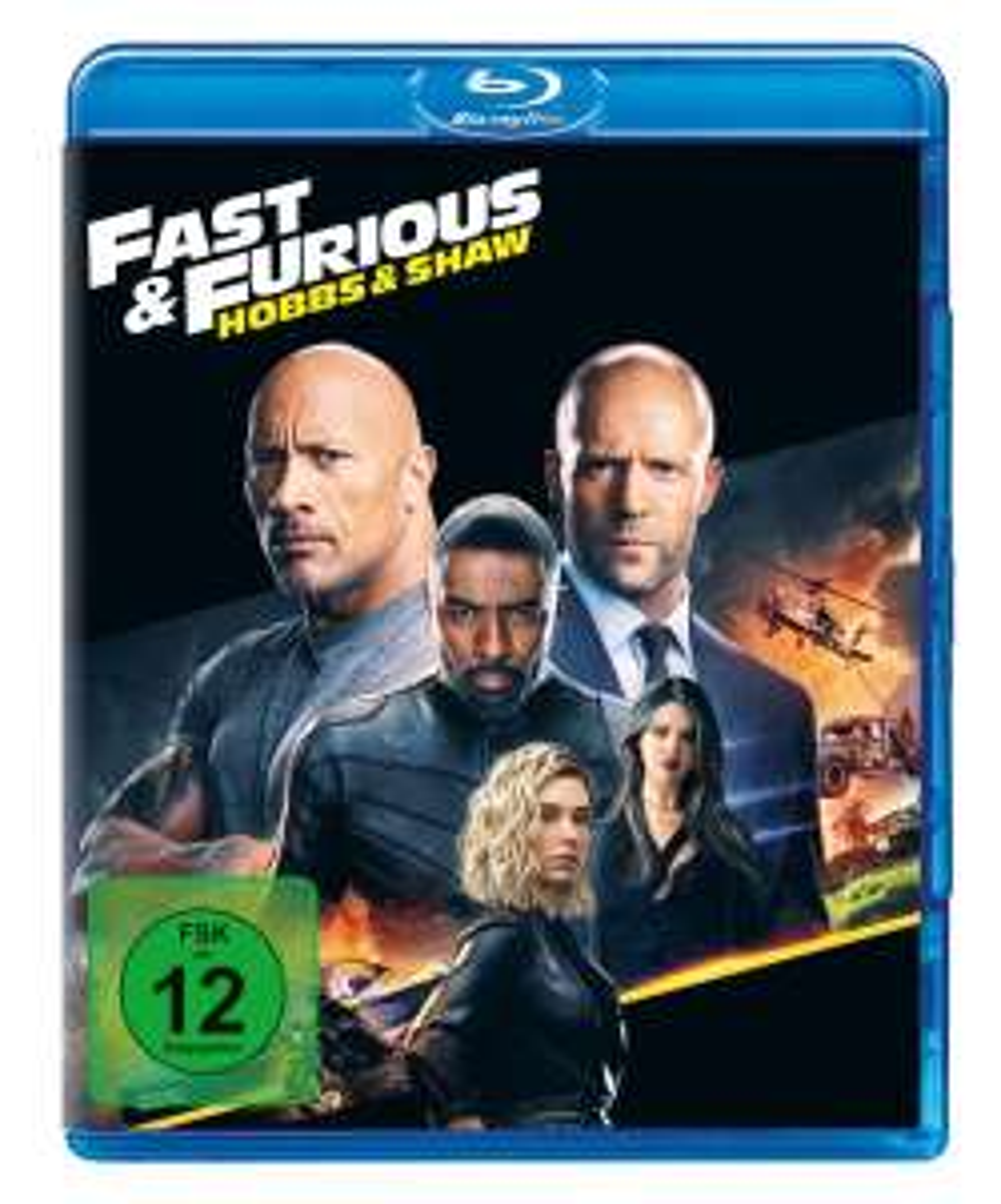 [Amazon.de] Blu-ray Fast & Furious: Hobbs & Shaw