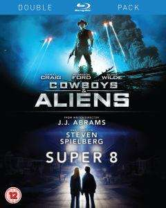 [Blu-ray] Double-Pack  - Cowboys and Aliens / Super 8 - 10,99 € bei Zavvi