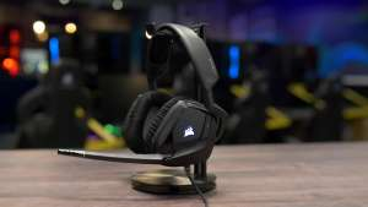 Corsair Gaming-Headset Void Pro RGB Dolby 7.1 Surround Headphone USB
