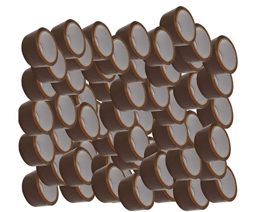 Alaskaprint 180 (mehrere Varianten) Rollen 48mm x 66m Braun Paket Klebeband 50 cent / 66m Rolle