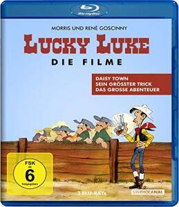 Lucky Luke - Die Filme (3-Filme Set Blu-ray) für 10,40€ (Amazon Prime)
