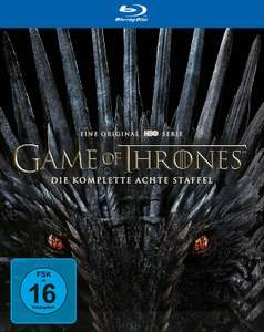 Game of Thrones: Die komplette achte Staffel (Blu-ray) für 23,99€ (Amazon Prime & Media Markt Abholung)