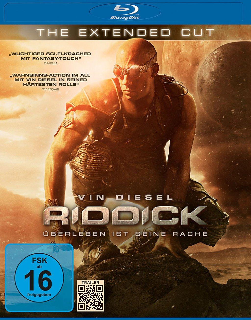 Riddick - Überleben ist seine Rache (Extended Cut Blu-ray) für 4,79€ (Media Markt Abholung)