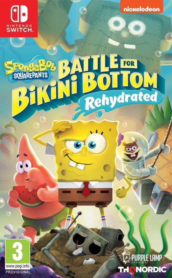[Coolshop - PEGI Version] Spongebob Squarepants: Battle for Bikini Bottom Rehydrated (Switch | PS4)