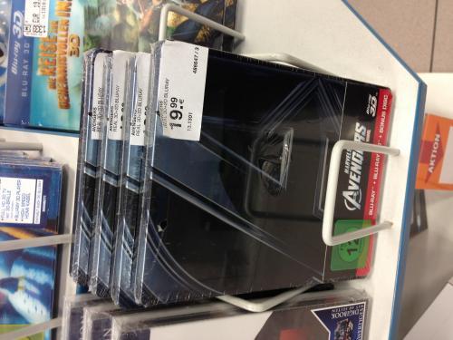 (Lokal?? Müller) (Blu-Ray) The Avengers 3D STEELBOOK + Blu-Ray 2d + Bonusdisc  für 19,99€