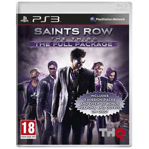 Saints Row The Third: The Full Package (PS3) für ca. 27 € @AmazonUK