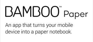 Bamboo Paper Pro Pack (Freebie iOS, Android und Windows)