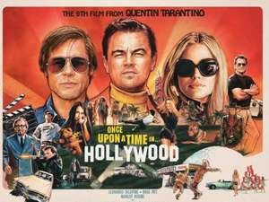 iTunes Kauffilm Once Upon A Time In Hollywood 4K Dolby Vision Quentin Tarantino