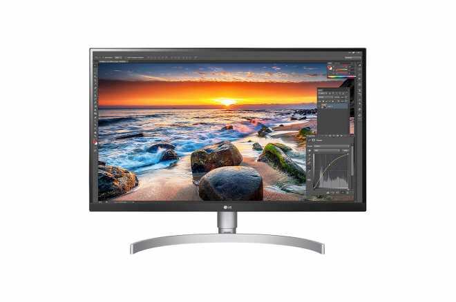 LG 27UL850-W - 4K Monitor, 60Hz, USB-C, AMD Freesync, 99% sRGB (Silber)
