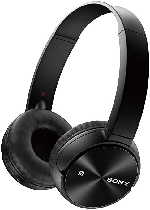 Amazon: SONY MDR-ZX330BT für 33€, Over-ear Kopfhörer, Near Field Communication, Headsetfunktion, Bluetooth, Schwarz