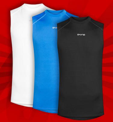 """Skins DNAmic Herren Funktionsshirt """"Force"""" für 6,66€ + 3,95€ VSK (Größe XS - XL, In 3 Farben verfügbar) [SPORTSPAR]"""