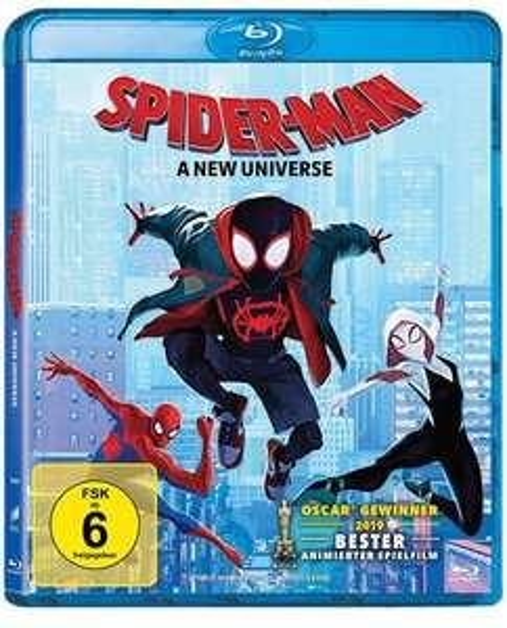 Spider-Man: A new Universe (Blu-ray) für 5,59€ (Amazon Prime & Media Markt Abholung)