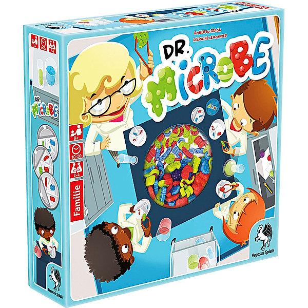 Brettspiel Kinderspiel Familienspiel Dr Microbe