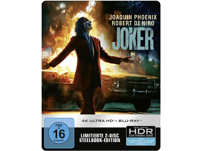 Media Markt: 20% auf Joker (2019), z.B.: 4K Ultra HD Steelbook für 29,59 € bei Marktabholung / 31,58 € mit Versand