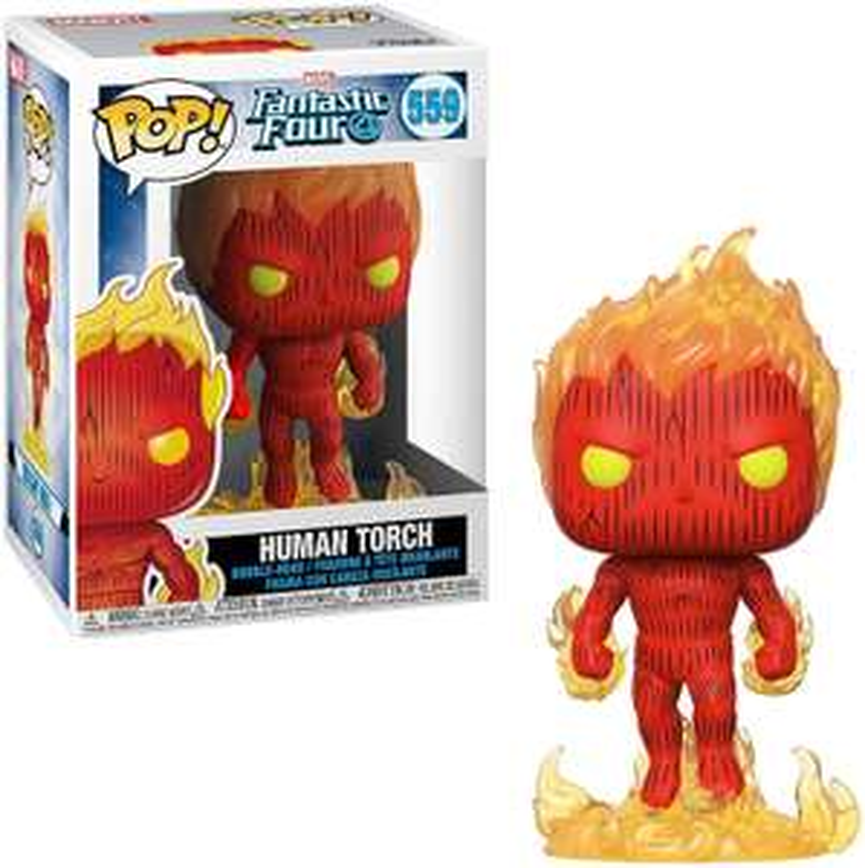 Funko Pop Sammeldeal! Marvel: Fantastic 4Human Torch 559 [Amazon Prime]
