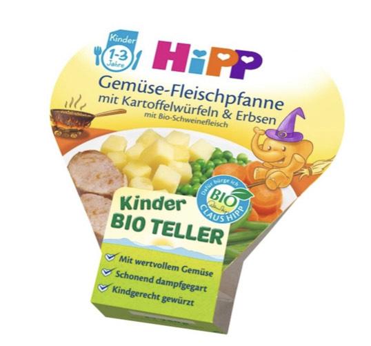[Rossmann] HIPP (Bio) Kinderteller / Kindergerichte Versch. Sorten