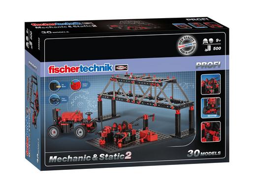 Fischertechnik Angebote z.B. Mechanic + Static 2 für 49.95€, Cars + Drives für 29.95€, Advanced Tractors für 9.95€ + 5.95€ VSK [iBOOD]