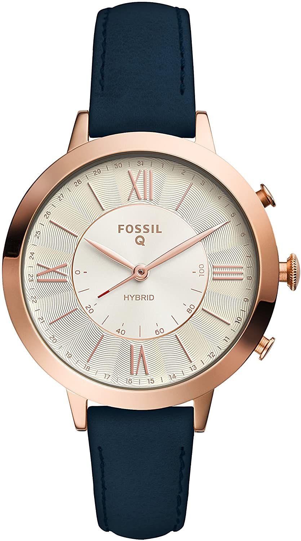 Fossil Damen Analog Quarz Uhr mit Leder Armband FTW5014 [Amazon]