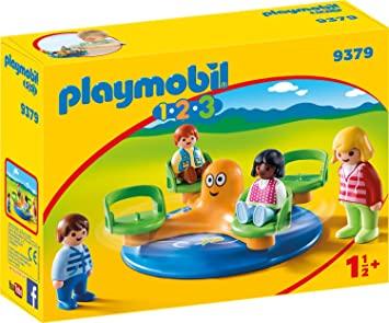Playmobil 1.2.3 - Kinderkarussell (9379) für 7,99€ (Amazon Prime & Galeria Kaufhof Abholung)