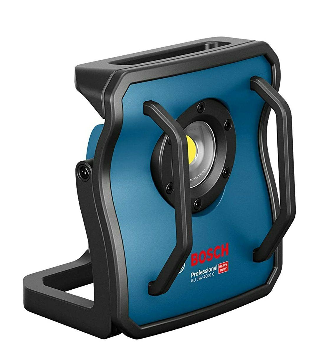 Bosch Professional 18V System Akku Baustrahler GLI 18V-4000 C (Leuchtstärke: 4.000 lm, ohne Akku und Ladegerät, im Karton)