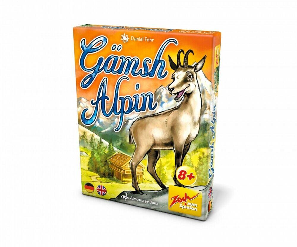 ( Amazon Prime ) Kartenspiel Gämsh Alpin von Zoch