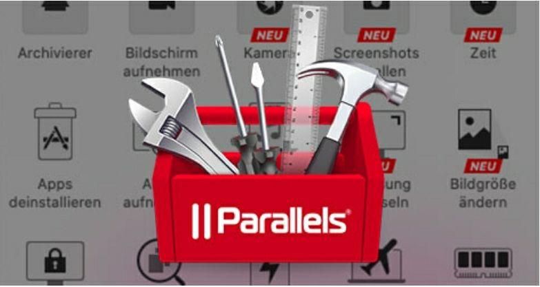 Parallels Toolbox 1 Jahr kostenlos