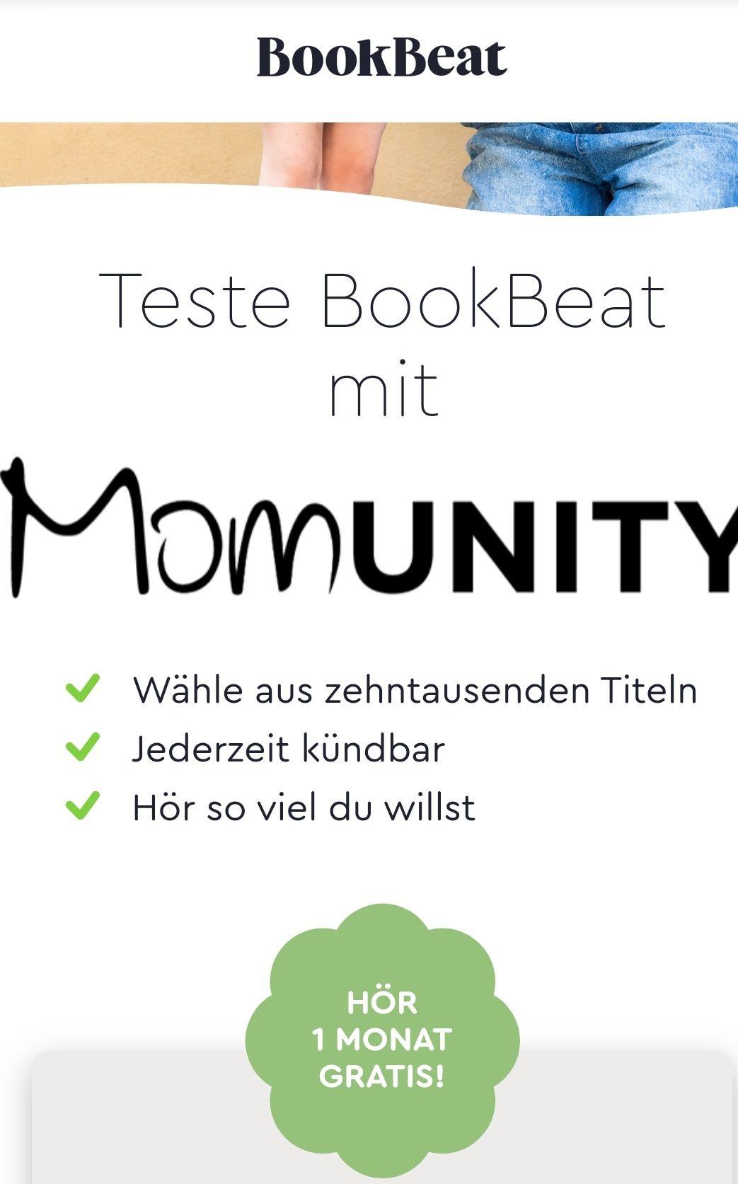 [Bookbeat App] Einen Monat lang unbegrenzt Hörbücher hören