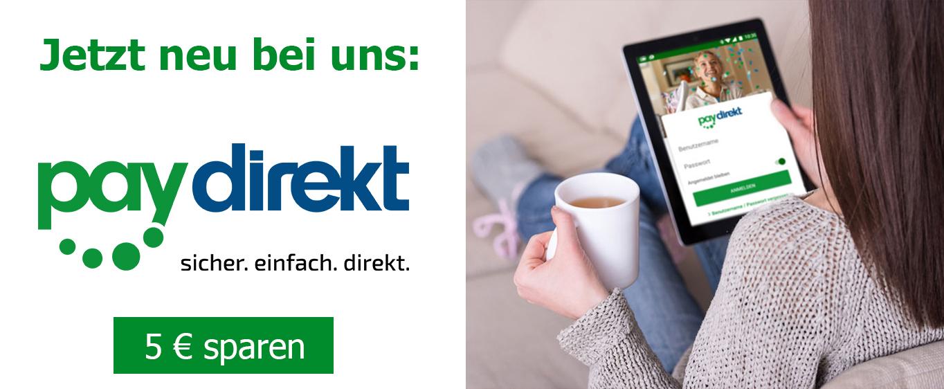 World of Sweets - 5 Euro Rabatt bei Zahlung mit Paydirekt