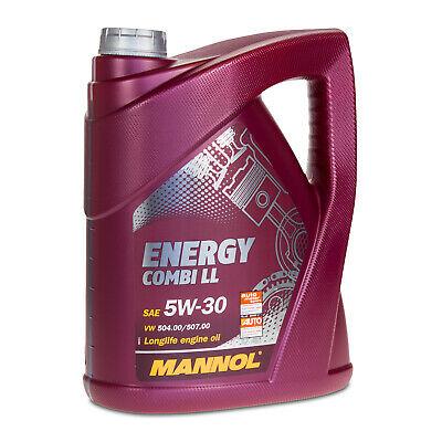 5 liter 5w 30 mannol energy combi ll motor l longlife iii vw. Black Bedroom Furniture Sets. Home Design Ideas