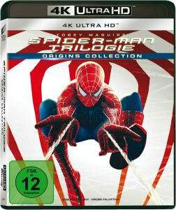 Spider-Man Trilogie (Origins Collection) 4K (4K Ultra HD) für 23,99€ (Media Markt Abholung)